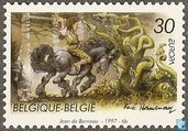 Postage Stamps - Belgium [BEL] - Europe – Tales and legends