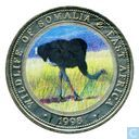 "Somalie 25 shillings 1998 ""Ostrich"""