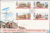 100 years Snaefell tramway