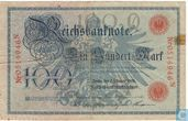 Reichsbanknote, 100 Mark 1908 (P33b)
