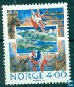 Postage Stamps - Norway - 50 e Commemoration Occupation Norway