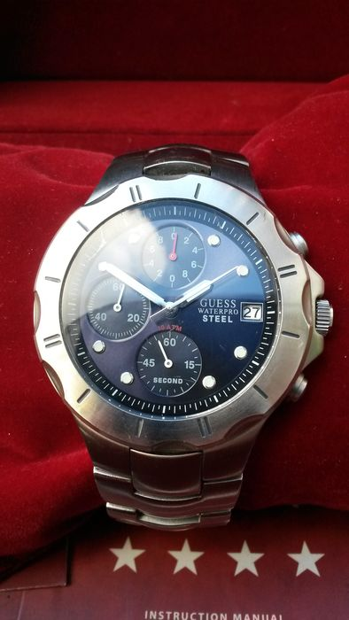 Guess Chronograph waterpro Steel I10121G3 - men's wrist watch - from 2011