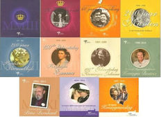 "The Netherlands – Year packs 2003/2013 ""Theme sets"" (11 different sets)"