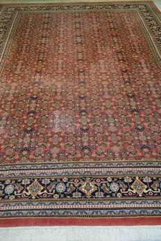 High quality Oriental carpet Indo-Sarough 343 x 255cm. End of the 20th century