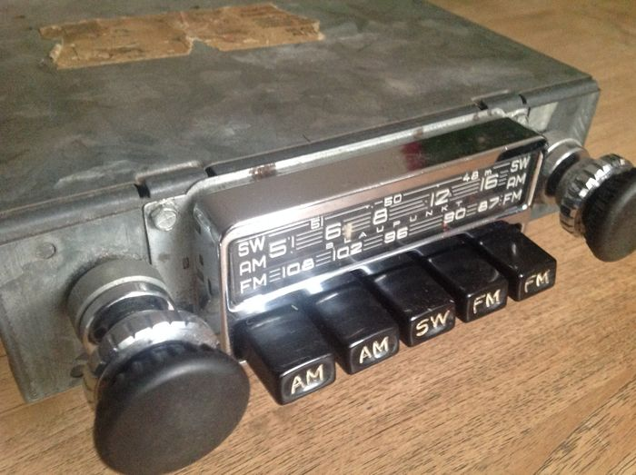 blaupunkt frankfurt us porsche 1967 vintage car radio. Black Bedroom Furniture Sets. Home Design Ideas