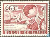 "Postage Stamps - Belgium [BEL] - Weather Balloon and Supply Ship ""Magga Dan"""