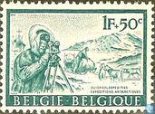 Postage Stamps - Belgium [BEL] - Surveying
