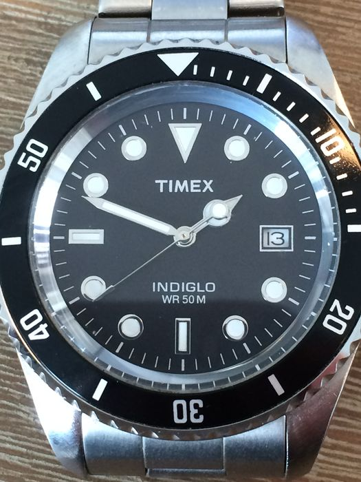 5f75551b7136 Timex Indiglo WR 50M watch -- from 21st century - Catawiki