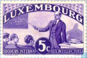 Postage Stamps - Luxembourg - Schoolteacher