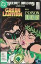 secret origins, green lantern and poison ivy