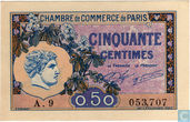 Paris Chamber of Commerce 50 cents