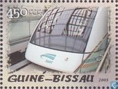 Maglev train à grande vitesse