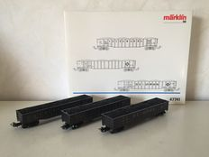 Märklin H0 - 47741 - 3-piece wagon set of Erie Lackawanna