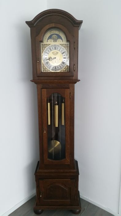 Longcase clock - Interclock Belgium - 2nd half of 20th century
