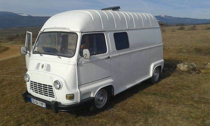 renault estafette fourgon am nag camping car 1976. Black Bedroom Furniture Sets. Home Design Ideas