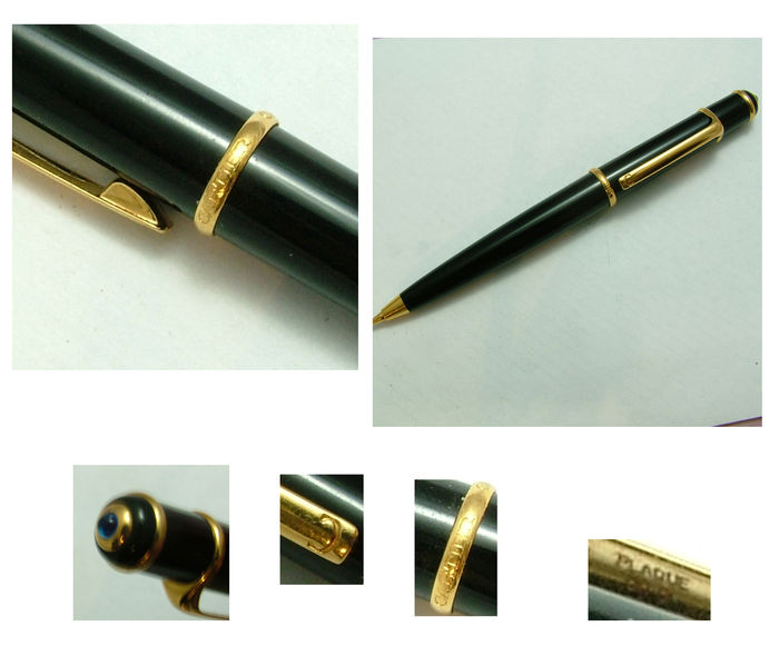 PENCIL MARK MODEL CARTIER DIABOLO. Gold lacquer SIZE 115 MM