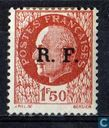 Petain - Liberation - Overprint (Gironde)