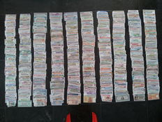 World - Very extensive lot of approx. 1000 different banknotes from all over the world.