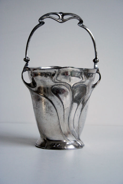 Juventa prima metal - Art Nouveau silver plated pewter ice bucket