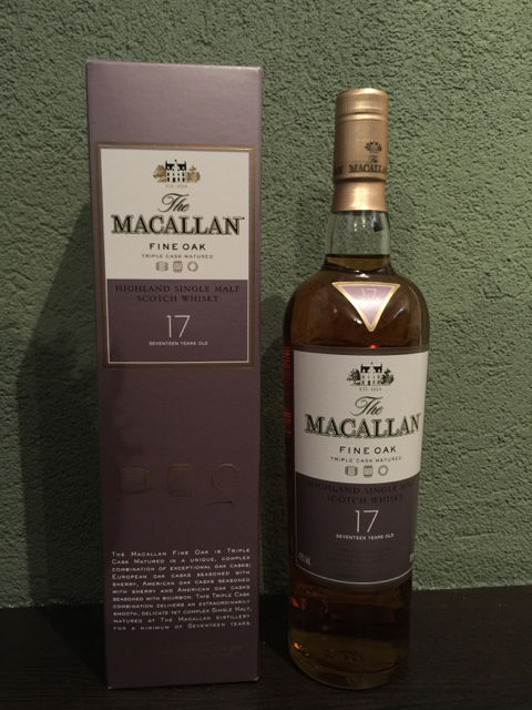 Macallan 17 Fine Oak