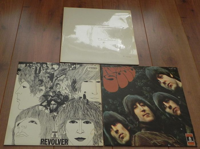 The Beatles Lot Of 3 Early French Pressings The Beatles