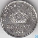 France 20 centimes 1868 (A)