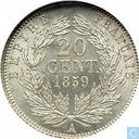 France 20 centimes 1859