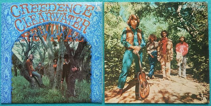 Lot of 2 great LP's - Creedence Clearwater Revival