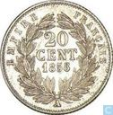 France 20 centimes 1858