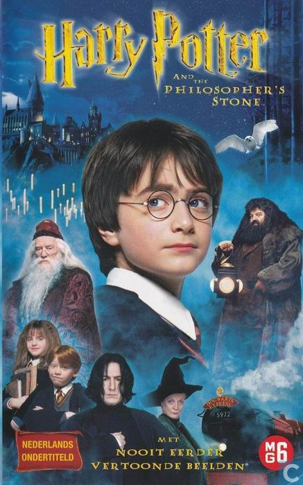harry potter and the philosopher 39 s stone vhs video tape catawiki. Black Bedroom Furniture Sets. Home Design Ideas