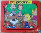 Snoopy et sa voiture