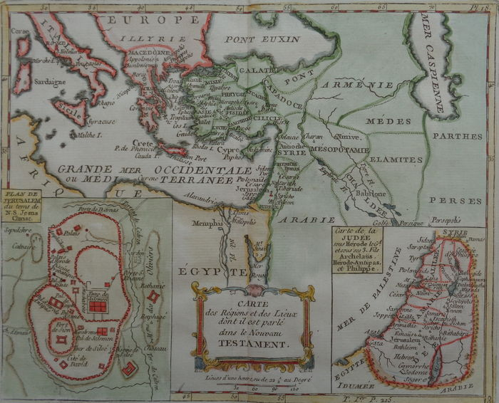 Middle East, Holy Land; Joseph de Laporte - Carte des Regions et des on map of the mediterranean, map of the holy spirit, map of the old testament, map of the republic of korea, map of the church of the holy sepulchre, map of jordan, map of the spirit world, map of the resurrection, map of the trinity, map of the dead sea, map of the hungry, map of europe, map of south africa, map of the six day war, map of the mines, map of the palestine, map of jerusalem, map of israel, map of the egypt, map of the tribe of ephraim,