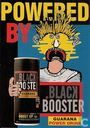 """A000706 - Black Booster """"Powered By..."""""""