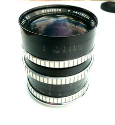 Rectaflex Angenieux wide-angle lens, very rare!