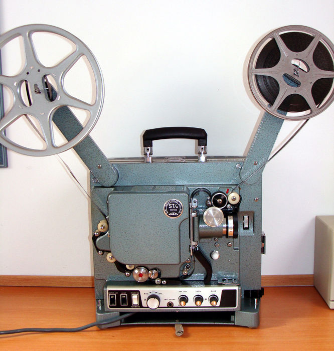 Eiki ST-2H 16mm Projector with optical and magnetic sound