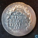 Prussia 1/3 thaler 1758