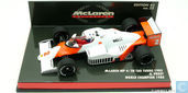 McLaren MP4/2B TAG Turbo 1985 Alain Prost World Champion 1985
