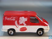 Model cars - Lesney /Matchbox - Ford Transit 'Coca-Cola Ice-Hockey''