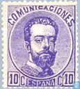 Postage Stamps - Spain [ESP] - King Amadeo I