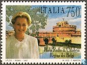Postage Stamps - Italy [ITA] - Queen Paola