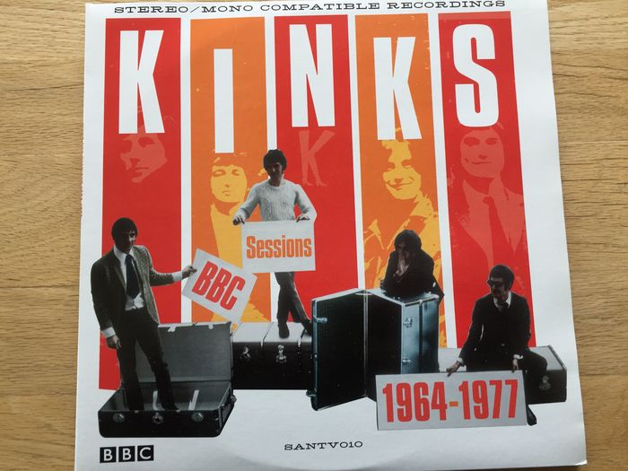 Kinks - BBC Sessions 1964 - 1977 // 3 LPs - Gatefold Cover / Mega rare!