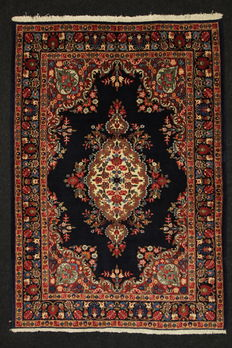 Splendid BIRJAND/KHORASAN Persian collector's carpet, Iran? 193 x 136.
