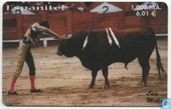 Toreador Fighting with Bull nr 1/4