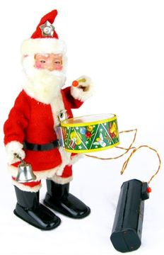 Happy Santa of the Cragstan company, battery operated