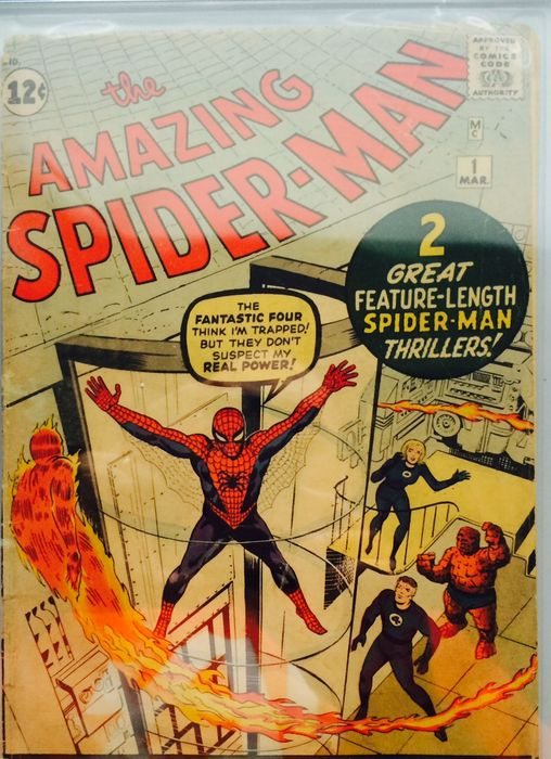 The Amazing Spider-man #1 - CGC 3.0 OW/W pages (1963)