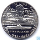 Marshall Islands 5 Dollars 1992