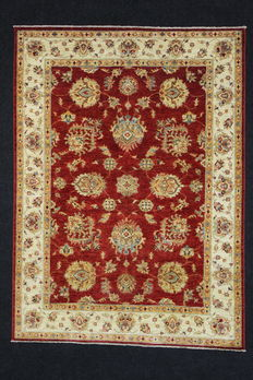 Beautiful TCHUBI carpet, Afghanistan, 197 x 145 cm