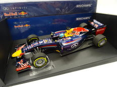 Minichamps - Scale 1/18 - Infiniti Red Bull Racing RB10 Race Version 2014 - Driver: Sebastian Vettel