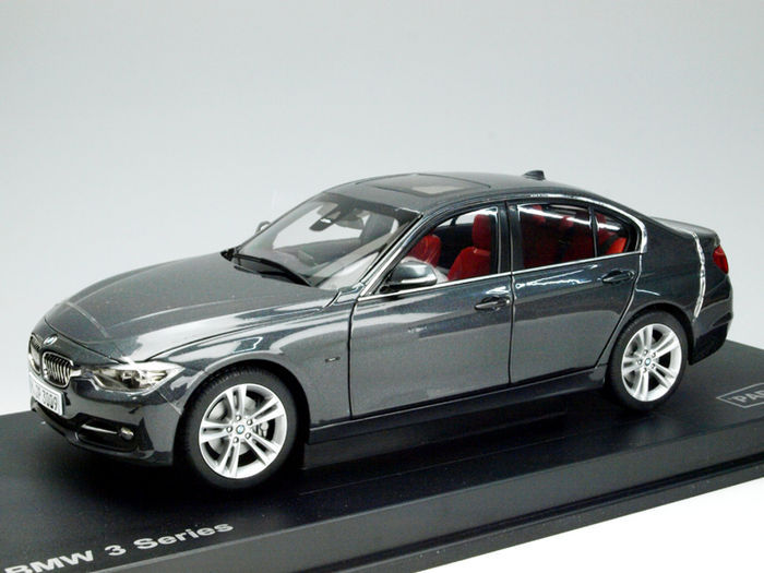 Paragon Models   Scale 1/18   BMW 3 Series 335i, Mineral Grey