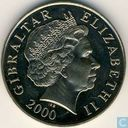 Gibraltar 5 pounds 2000